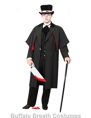Jack the Ripper Victorian costume rental or purchase at Buffalo Breath Costumes