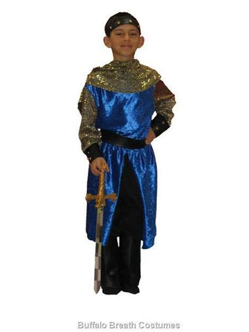Child size Knight costume rental or purchase at Buffalo Breath Costumes in San Diego