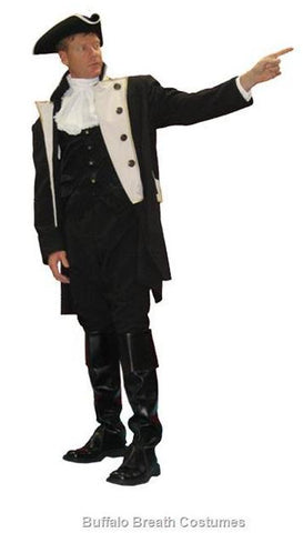 Colonail Military Officer costume at Buffalo Breath Costumes in San Diego