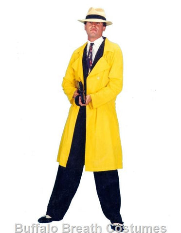 Dick Tracy costume rental at Buffalo Breath Costumes