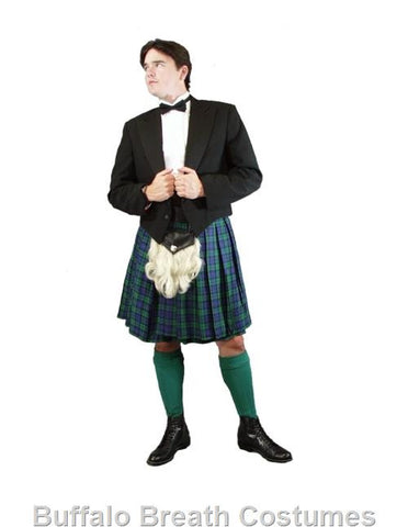 Formal Green Kilt