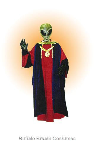 Alien 14 Red Robe