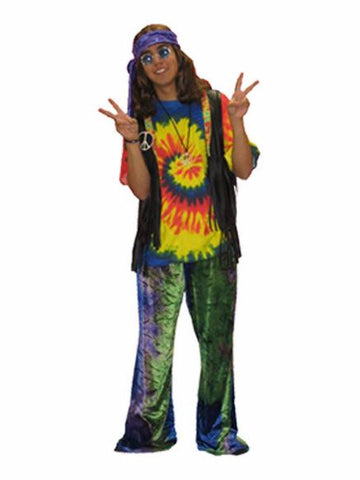 Woodstock Male Tie-Dye Hippie