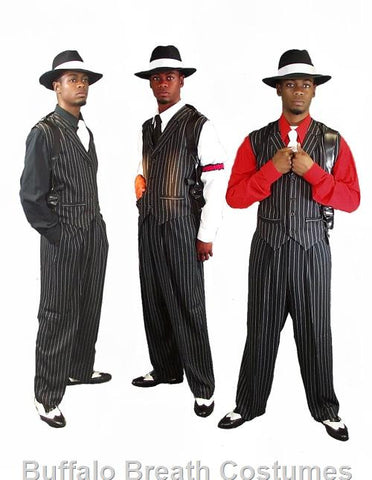 1920s Gangster costume rental or purchase from Buffalo Breath Costumes