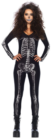 X-Ray Skeleton Catsuit by Leg Avenue 85602 at Buffalo Breath Costumes