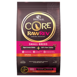 20% OFF + FREE GIFT Wellness CORE RawRev Small Breed Dog Food