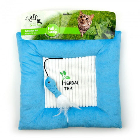 AFP Green Rush Cat Catnip Fun Mat