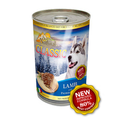 Alps Natural Classic Lamb Canned Dog Food - Push Pets Singapore