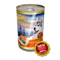 Alps Natural Salmon Canned Dog Food - Push Pets Singapore
