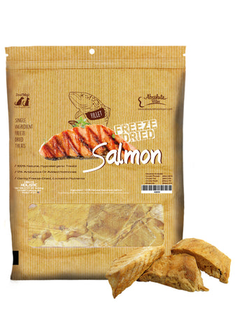 Absolute Bites Freeze Dried Salmon Treats
