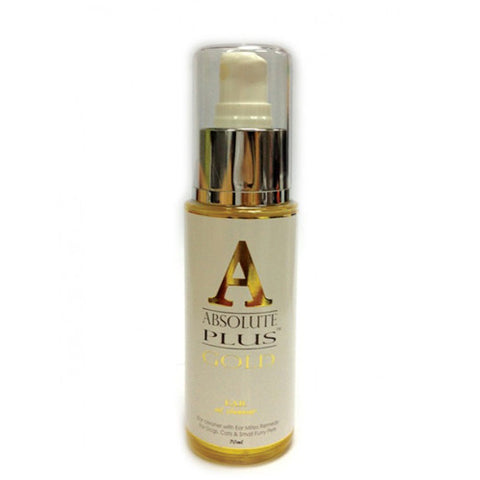 Absolute Plus GOLD Ear Oil Cleanser - Push Pets Singapore