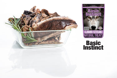 Basic Instinct Lamb Steak Treats
