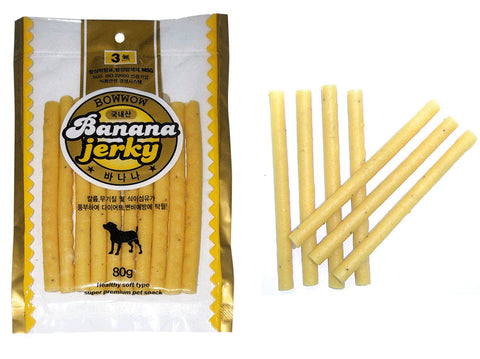 Bow Wow Banana Jerky 80g