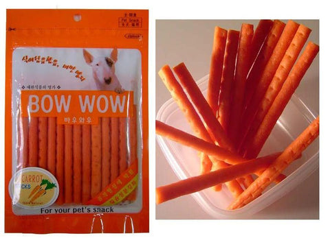 Bow Wow Carrot Stick 100g