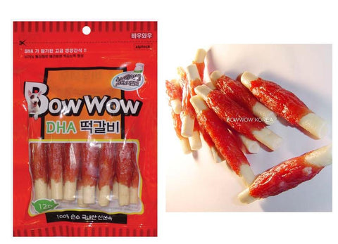 Bow Wow Pork Loin Roll Meat Stick 6 pcs
