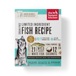 Honest Kitchen Limited Ingredient Fish Dehydrated Dog Food - Brave