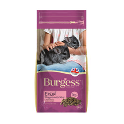 Burgess Chinchilla With Mint Food 2kg
