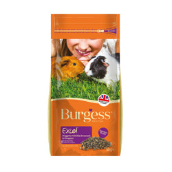 Burgess Guinea Pig Black & Oreg Food 2kg