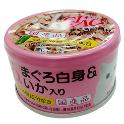 CIAO White Meat Skipjack with Squid in Jelly Flavor Cat Treats 85g
