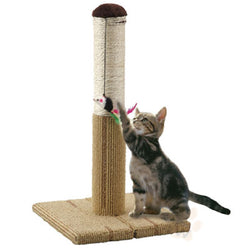 Marukan Foldable Scratch Tower for Cat