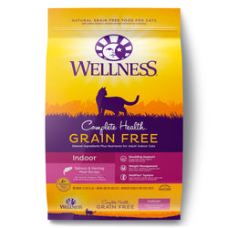 Wellness Complete Health Grain-Free Indoor Salmon & Herring Meal Cat Food