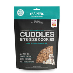 Honest Kitchen Cuddles Fish & Pumpkin Dog Treats