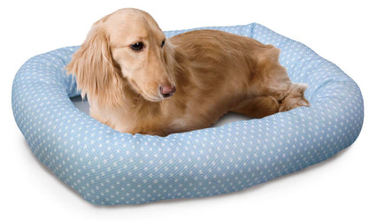 Marukan Polka Dot Pillow Bed for Dogs & Cats