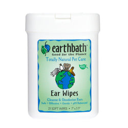 Earthbath Ear Wipes - Push Pets Singapore