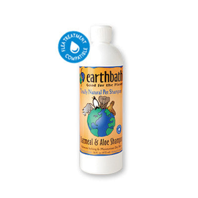 Earthbath Fragrance Free Oatmeal & Aloe Itch Relief Shampoo - Push Pets Singapore