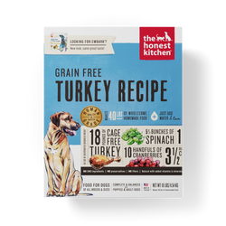 15% OFF + FREE GIFT Honest Kitchen Grain Free Turkey Dehydrated Dog Food - Embark