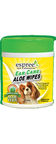 Espree Ear Care Aloe 60 Wipes