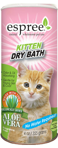 Espree Kitten Dry Bath 4oz