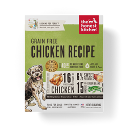 15% OFF + FREE GIFT Honest Kitchen Grain Free Chicken Dehydrated Dog Food - Force