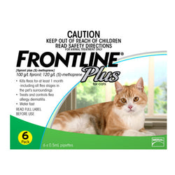 Frontline Plus: Flea & Tick Spot On for Cats - Push Pets Singapore