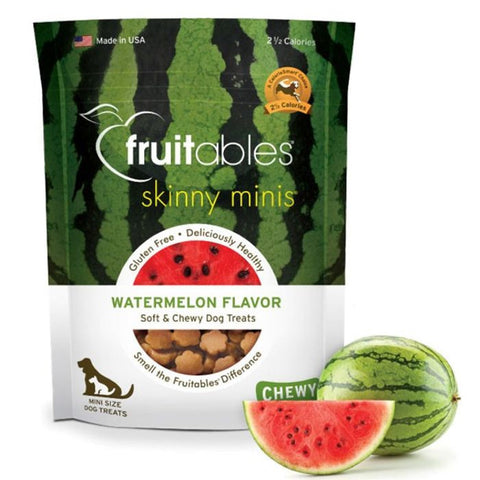 Fruitables Skinny Minis in Watermelon Dog Treats - Push Pets Singapore