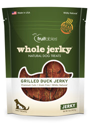 Fruitables Whole Jerky Grilled Duck Strips Dog Treats