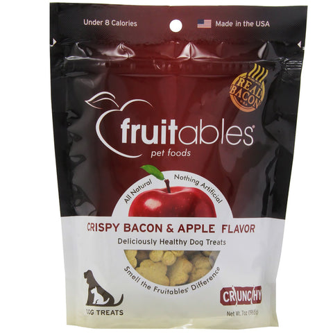 Fruitables Crispy Bacon & Apple Dog Treats