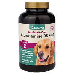 NaturVet Glucosamine Double Strength with MSM & Chondroitin - Push Pets Singapore