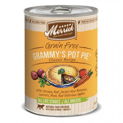 Merrick Classic Grain Free Grammy's Pot Pie Canned Dog Formula - Push Pets Singapore