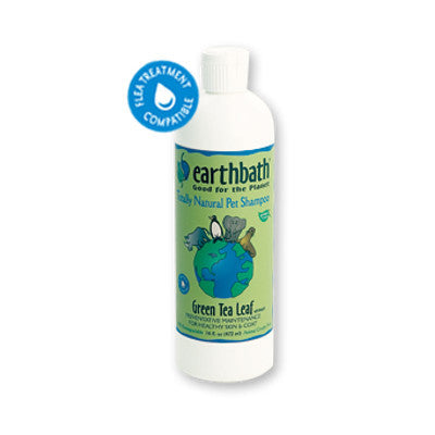 Earthbath Green Tea Shampoo - Push Pets Singapore