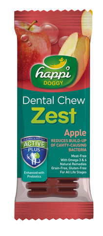 Happi Doggy Dental Chew Zest (Apple)