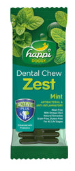 Happi Doggy Dental Chew Zest (Mint)