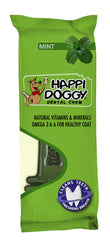 Happi Doggy Large Breed Dental Chew ZEST (6 inch Mint)