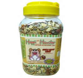 Happi Hamster Shiny & Glossy Coat 600g