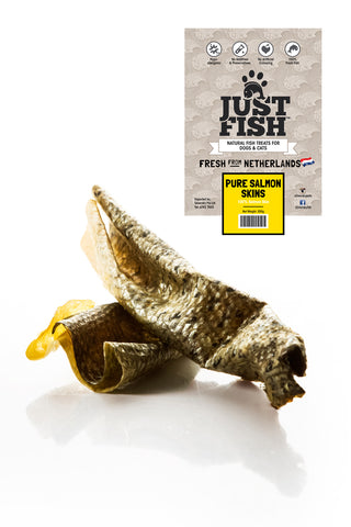 Just Fish Pure Salmon Skin - Push Pets Singapore