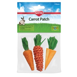 Kaytee Carrot Patch Chew Toy 3pk