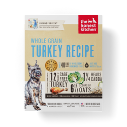 15% OFF + FREE GIFT Honest Kitchen Whole Grain Turkey Dehydrated Dog Food - Keen