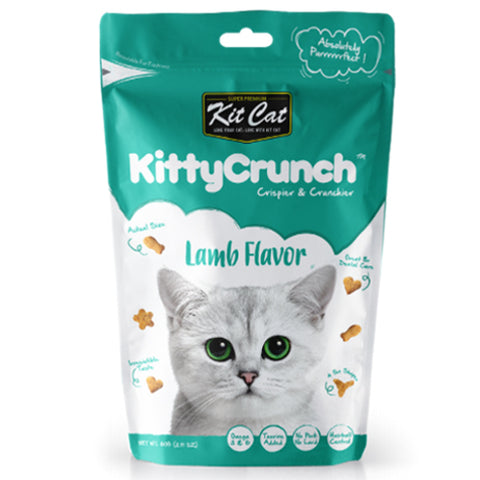 Kit Cat Kitty Crunch Cat Bites Lamb 60g
