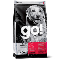 Petcurean Go! Daily Defence Lamb Meal Dry Dog Food - Push Pets Singapore