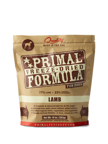 BUY 1 GET 1 FREE Primal Freeze-Dried Lamb Nuggets for Dogs - Push Pets Singapore